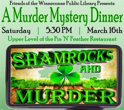 shamrocks and murder mystery dinner