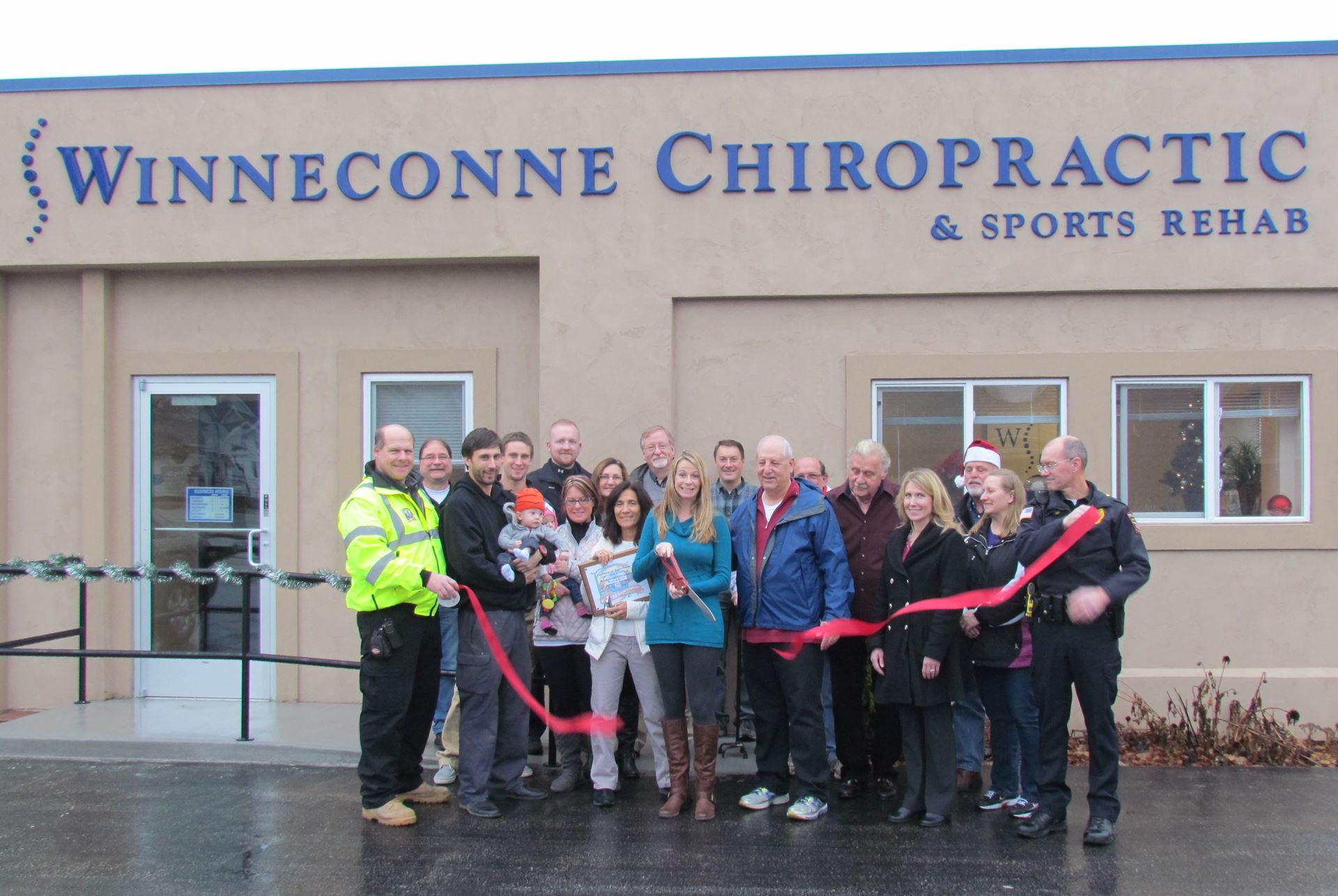 Winneconne Chiropractic Ribbon Cuttin (11)