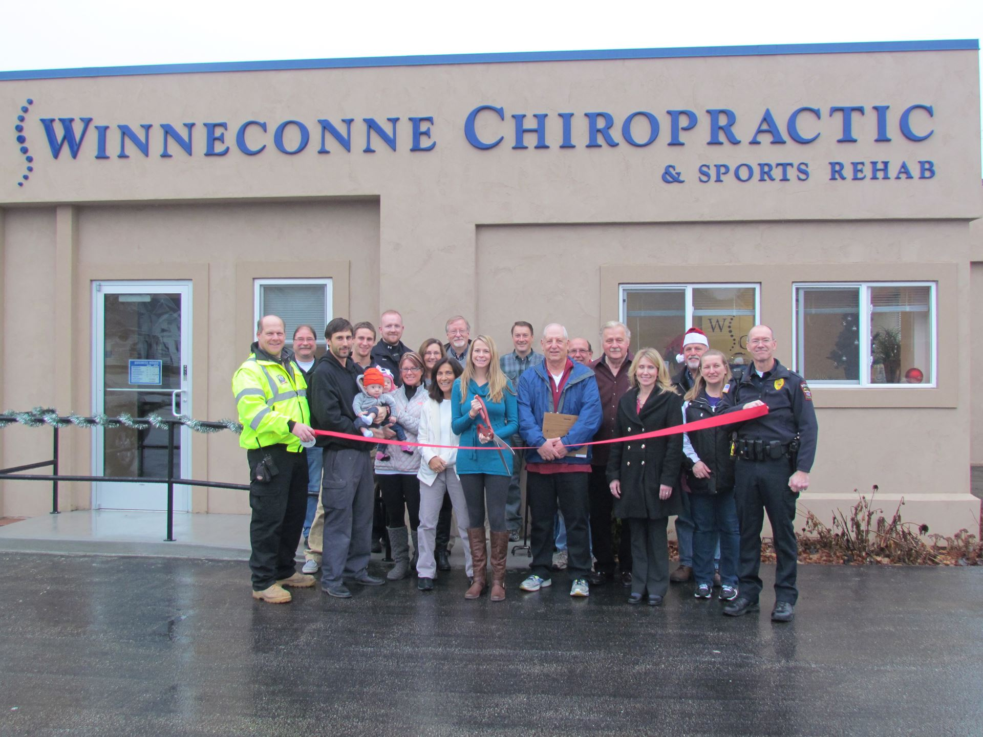 Winneconne Chiropractic Ribbon Cuttin (7)