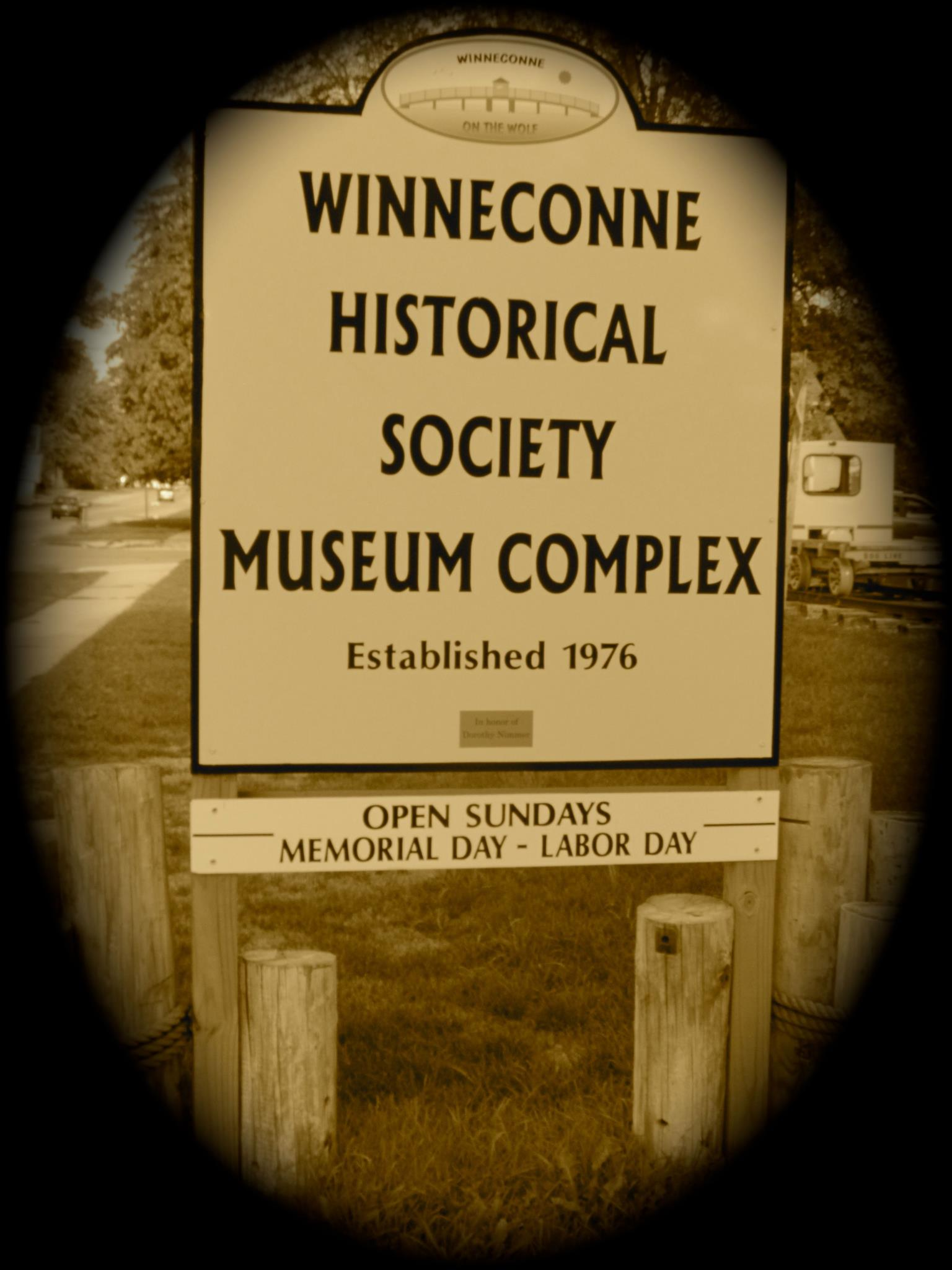 Winneconne Historical Society Sign